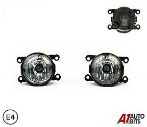 Fits Porsche Cayenne Macan 2X Fog Lights Lamps E4 Lh Or Rh 95563116300 H11 Bulb