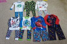 NEW Boy's Pajama PJs Sleepwear Sets Sz 4 Long Sleeve Long Pants Disney Gymboree