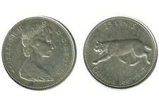 25 Cents Elisabeth II Canada Argent N.D. 1967