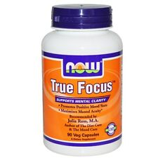 Now Foods, True Focus, x90 Veggie Caps