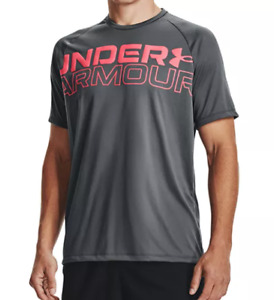 Under Armour Training Tees Mens Small to 3XL Authentic Tech Short Sleeve Shirts