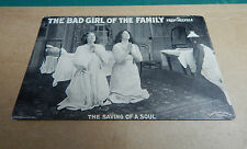 Aldwych Theatre promo postcard for Bad Girl of the family 1900's card 2 Ao1
