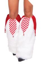 NEW! J Valentine Sexy Jingle Bell Leg Warmers- 1018SC- O/S