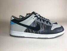 Nike Dunk Low 6.0 Dark Cinder Black Blue 2008 Skateboarding Sneakers Size 11