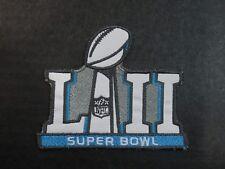 Super Bowl LII 52 Sewn-On Patch Philadelphia Eagles vs New England Patriots