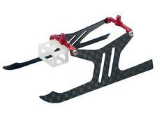 Microheli Carbon Fiber Landing Gear set (RED) - BLADE MSR X/S