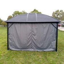 ALEKO Polyester Curtain Panels for Hardtop Roof Gazebo 10X12 feet