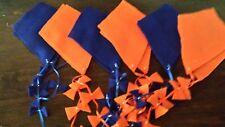 Flannel Game/Bulletin Board Kites--Blue/Orange