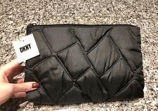 DKNY Black Nylon Cosmetic Case Bag