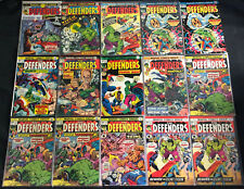 THE DEFENDERS BRONZE AGE COMIC LOT 90PC (VG-VF)