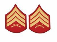 USMC Dress Blue Coat Sgt Chevrons - Male