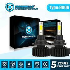 9006 HB4 Low Beam 6000K White LED Headlight Bulb Kit High Power 330000LM Lamp 2X