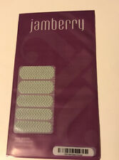 Jamberry Nail Wraps Color Cn07 Mint Green Chevron Full Sheet New Never Opened