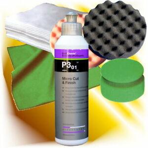 Koch Chemie Schleifpolitur Micro Cut & Finish P3.01 250 ml mit Polierschwamm