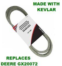 "John Deere Repl Belt Gx20072 Gy20570 42"" Deck L100 L108 L110 L118 Made W Kevlar"