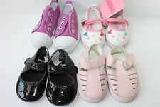 LOT BABY INFANT GIRLS GYMBOREE 1 2 3 SHOES SANDALS SNEAKERS PINK MARY JANE EUC