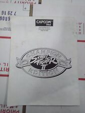 streetfighter 2 championship arcade manual #3