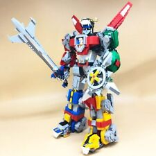 Voltron Robot Ideas Toy MOC Building Blocks Bricks Bloks Set Compatible 21311