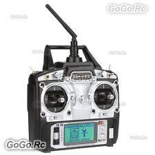 Flysky FS-T6 Radio & Receiver 2.4Ghz 6CH AFHDS for RC Heli Plane Quadcopter