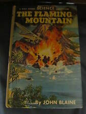 1962 Hardcover Book. The Flaming Mountain by John Blaine. Great Condition!