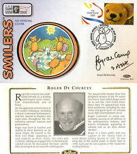 22 MAY 2000 SMILER TEDDY BEAR BENHAM COVER SIGNED BY ROGER DE COURCEY