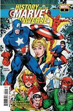HISTORY OF MARVEL UNIVERSE #2 MCNIVEN COVER MARVEL COMICS CAPTAIN AMERICA