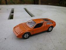 MEBETOYS MASERATI BORA ref A72 orange, bonne état d'usage, pas de boite.