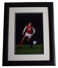 David O'Leary SIGNED FRAMED Photo Autograph 16x12 LARGE display Arsenal & COA
