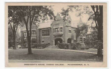 President's House Vassar College Poughkeepsie New York postcard