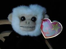 TY Beanie Baby Mooch Spider Monkey w/Tags Halo Tush Tag DOB & GASPORT Error MWTs