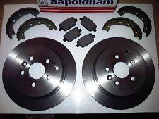 OEM SPEC FRONT DISCS AND PADS 277mm FOR LAND ROVER FREELANDER 2.0 TD 2000-06