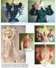 1890s Victorian Blouse Waist size 6-26 Laughing Moon Sewing Pattern 103 Costume