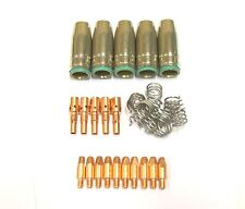 MB25 MIG Welding Torch Accessory Kit Tips / Shrouds / Springs - CHOOSE TIP SIZE