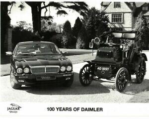 Jaguar Daimler 100 Years Of Daimler Press Photo B/W 1995 7025F