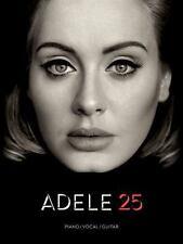 Adele 25 Piano Sheet Music Guitar Chords Lyrics Full Album ~ Hello, Remedy, More