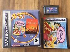 GBA: 2 GAMES IN 1 DISNEY PRINCESS + ROI LION    Game Boy Advance    PAL FR