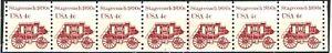 Stagecoach Original Issue MNH Coil PNC7 Plate 4 Scott's 1898A