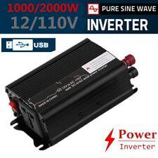 1000W DC 12V AC 110V Car Converter Power Inverter Electronic Charger GP