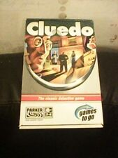 PARKER BROS TRAVEL CLUEDO COMPLETE USED ONCE 2005 EDITION