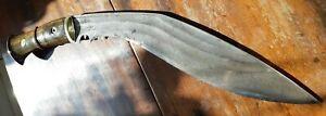 Antique large kukri knife