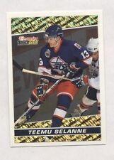 Teemu Selanne 1993-94 93 O-Pee-Chee Premier OPC Black Gold Insert Hockey Card