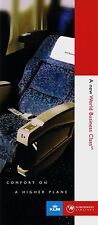 Northwest Airlines / KLM World Business Class Brochure =