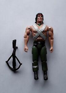 "Rambo Champion of Liberty Action Figure John Rambo Toy Island Carolco 3.75"" 1994"