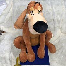 Walt Disney Store Cinderella 17in BRUNO HOUND DOG Soft Plush Toy