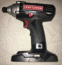 """Craftsman C3 19.2-Volt 1/4"""" Impact DRILL Driver (TOOL Only) 315.116060"""