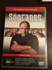 THE SOPRANOS Complete First Season Like New 6 DVDs  R4