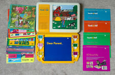 TI Texas Instruments Touch & Tell Electronic Learning 18 Overlays 6 Cartridges
