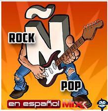 """DJs Music Video Mix"""" LATIN ROCK CLASSICS """" Best of Rock En Espanol/78 Minutes!!!"""
