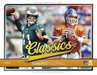 c6b652fd1 2018 Panini Classics GOLD NFL Football Insert Cards Pick From List  99