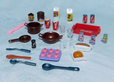 Barbie kitchen Food Accessories - Coke & Other items - New Used and Vintage Lot